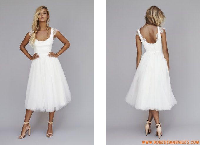 Robe blanche la vie est belle