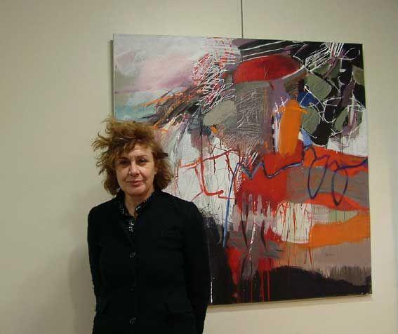 exposition des peintures de Claire Merigeau du 18 mars au 1er avril 2012 à la galerie Clémangis de Châlons en Champagne