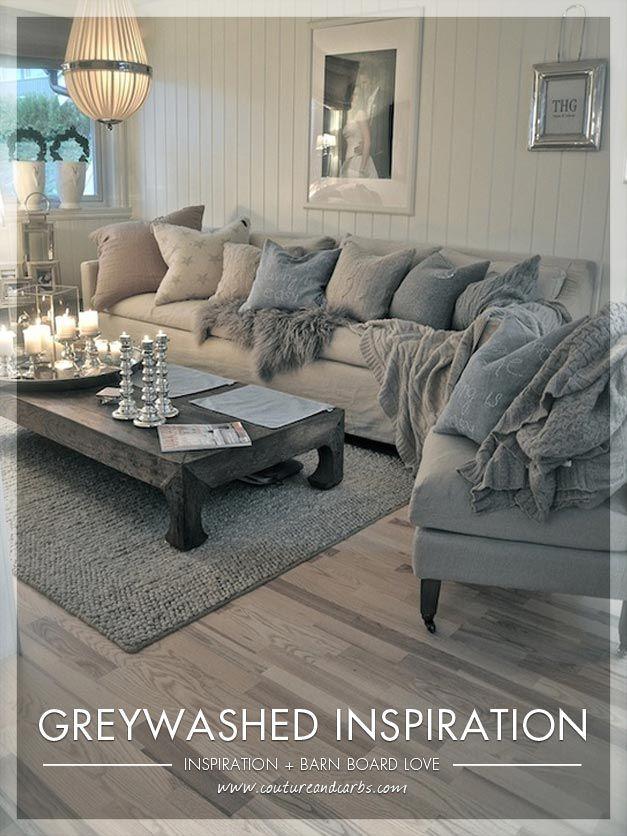 repurposed furniture ideas | Repurposing Furniture – Grey Washed Wood and Barn board Inspiration