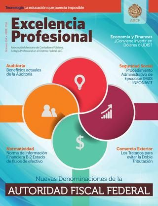AMCP Revista abril 2016  Autoridad Fiscal Federal