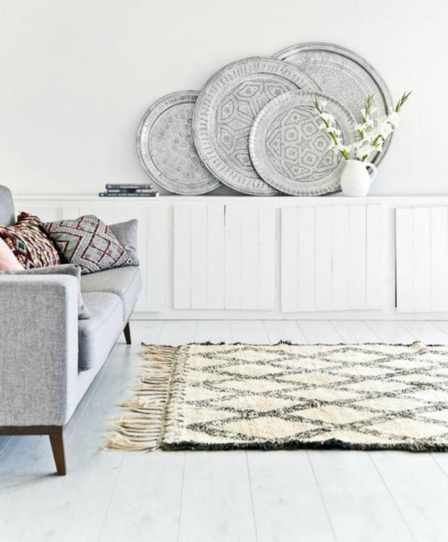 M s de 25 ideas incre bles sobre alfombras marroqu es en for Alfombras dibujos geometricos