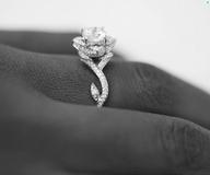 twilitwing: Rose/Lotus Style Diamond Rings