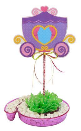 Centro de mesa para fiestas infantiles / Decoración para fiesta de princesas