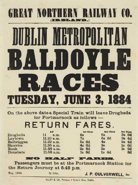 1884 Baldoyle Races