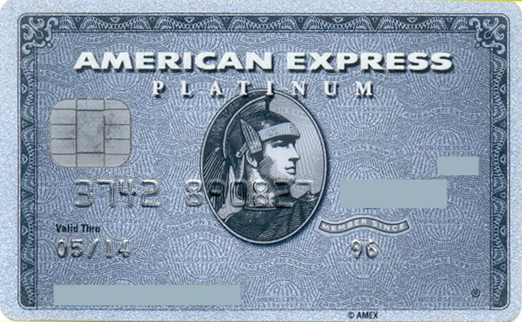 American Express Platinum chip (American Express, United Kingdom) Col:GB-AE-0032