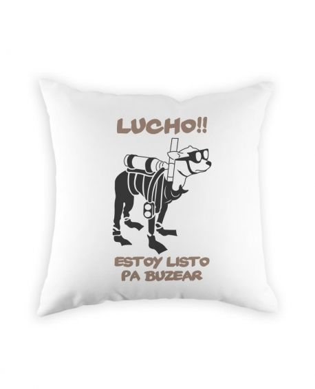 COJÍN LUCHO ESTOY LISTO PA BUZEAR - http://www.kamiz.cl/cojines/66-cojin-lucho-estoy-listo-pa-buzear.html