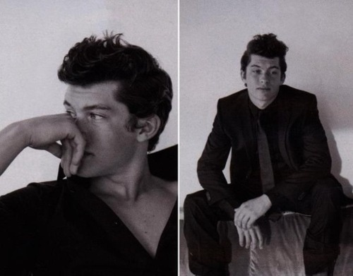 Graham Phillips for Interview Magazine styled by David Thomas  In its March issue, Interview Magazine is featuring actor Graham Phillips styled by David Thomas. Photographed by Aldo Rossi