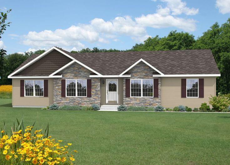 Sullivan Nh362a Manorwood Ranch Cape Homes Exteriors