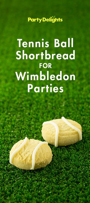 Complete your Wimbledon party with these easy homemade tennis ball biscuits! Find more Wimbledon party ideas over on the Party Delights blog - blog.partydelights.co.uk