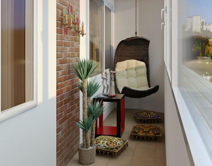 47 besten Balkon - Ideen \ Deko Bilder auf Pinterest Garten - balkonmobel fur kleinen balkon ideen