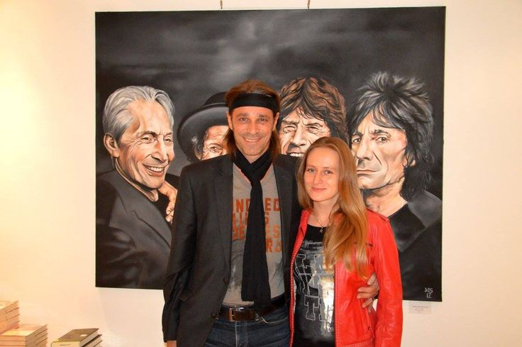 with the rolling stones