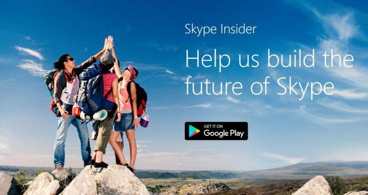 Νέα χαρακτηριστικά έρχονται στο Skype... - http://secnews.gr/?p=154172 - H Microsoft ανακοίνωσε τα νέα χαρακτηριστικά που έρχονται στην εφαρμογή του Skype τόσο για Android όσο και για IOS πλατφόρμες. Προς το παρόν τα νέα αυτά χαρακτηριστικά είναι διαθέσιμα αποκλειστικά μόνο για Skype Preview αλλά σ