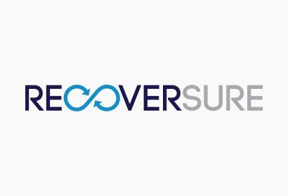 Logo design for Recoversure - A Delaney Kelly Golding company.