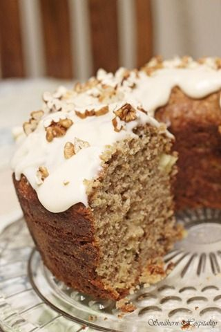 Hummingbird Cake *Note: No hummingbird's were harmed in the making of this delectable cake!