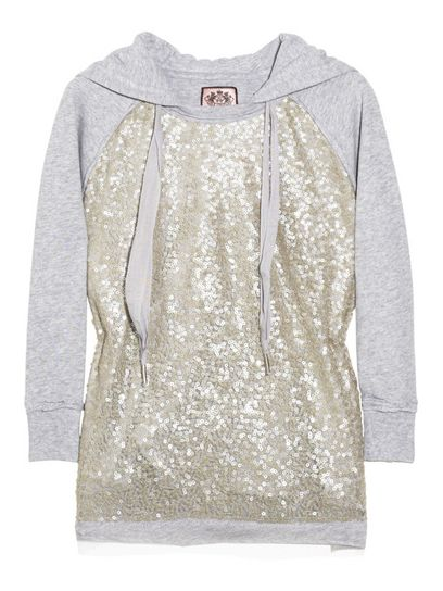 Sparkle hoodie!Fashion, Closets, Clothing, Sequins Hoodie, Sparkly Hoodie, Sparkle Hoodie, Cute Hoodie, Juicy Couture Sweatshirt, Sequins Sweatshirts