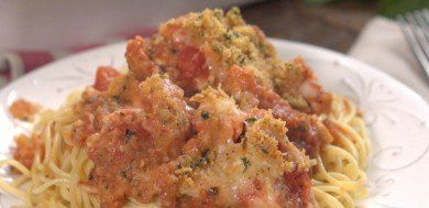 Chicken Parmesan Casserole--Tip Hero