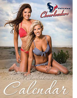 Buy the 2013-14 Houston Texans Cheerleaders Swimsuit Calendar!