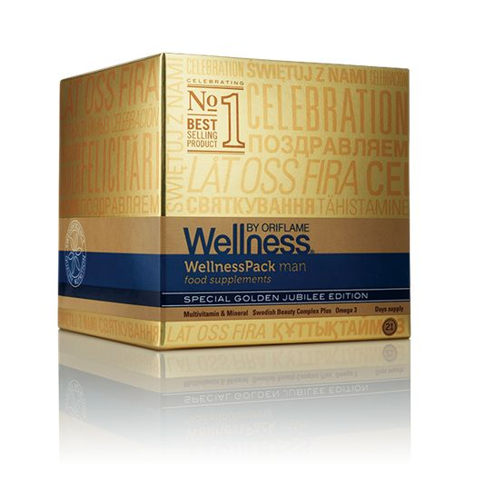 WellnessPack. Suplement diety dla mężczyzn                                     http://pl.oriflame.com/business-opportunity/become-consultant?potentialSponsor=826453