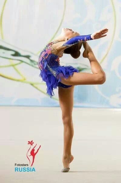 Young Russian rhythmic gymnasts: Grace from tip to toe ...