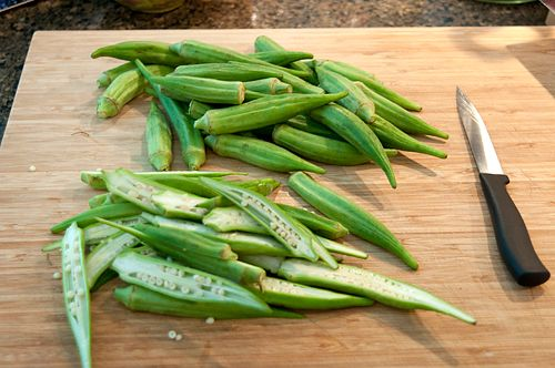 Okra Chips: Gardens Recipes, Thyme Recipes, Oven Recipes, Favorite Recipes, Ovens Recipes