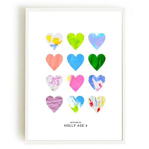 Custom I Heart Your Art Print - The Market