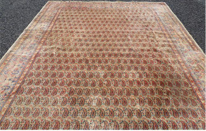 Bellissimo tappeto persiano Chorrassan di grandi dimensioni! annodato a mano con…