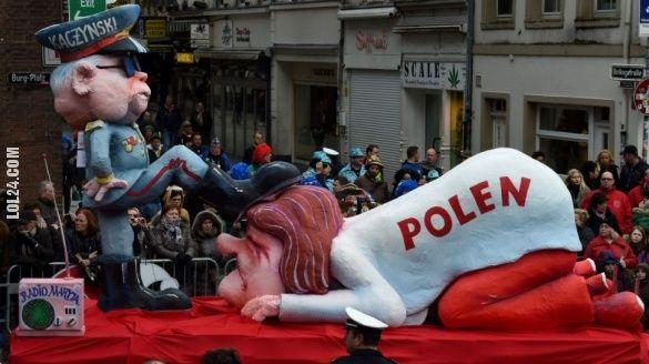 Polska pod butem Kaczyńskiego na niemieckiej paradzie #polska #pod_butem #Kaczyński #Niemiecka #praga #Duesseldorfie