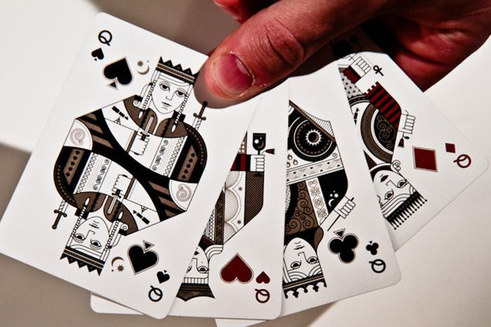 Sentinels Playing Cards - Hatch Design