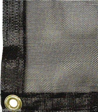 Mesh Tarp Shade Cloth 15' x 25' - 55%