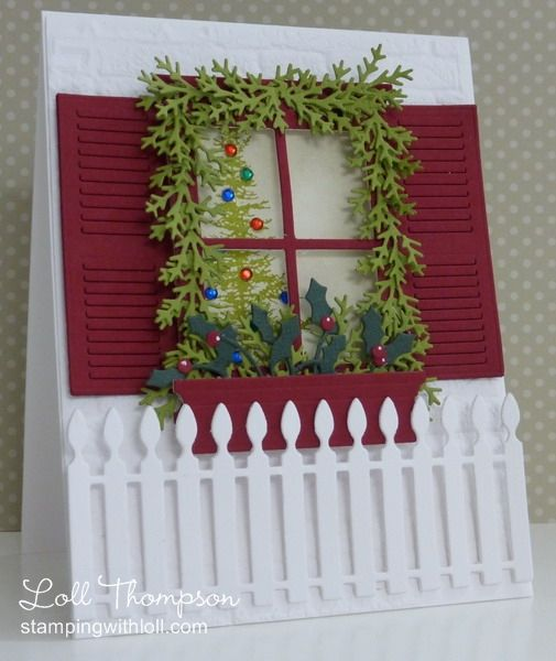 All Decorated for Christmas by Loll Thompson - Cards and Paper Crafts at Splitcoaststampers
