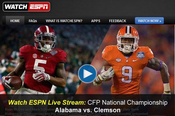CFP National Championship Live free, CFP National Championship live, CFP National Championship streaming, Alabama vs Clemson Live free, Alabama vs Clemson Live, CFP Final Live, CFP Bowl Live