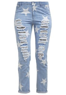 Noisy May NMSCARLET - Relaxed fit jeans - light blue denim for £12.60 (23/10/16) with free delivery at Zalando