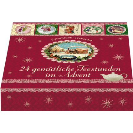 24 gemütliche Teestunden im Advent - Tee-Adventskalender