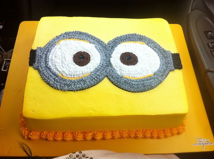Torta de cumpleaños de Minions/ Minions Birthday Cake!