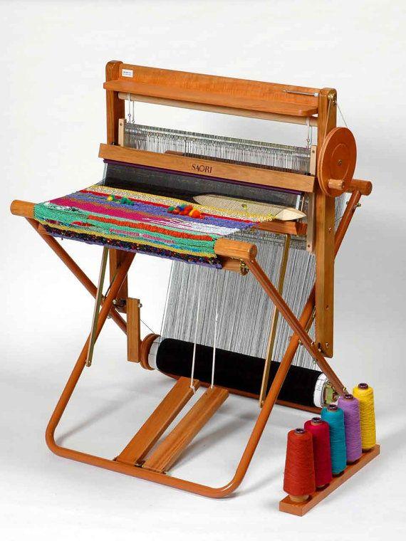SX60 or SX60H Folding Floor Loom - SAORI Handweaving Tool - Gift Certificate for Deposit