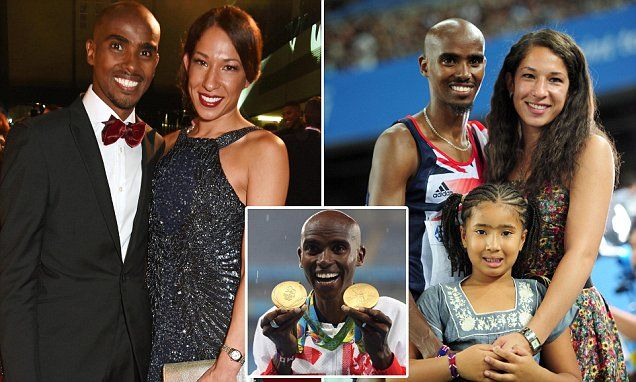 "And out comes the 'Race' card Mo Farah's wife 'calls airline worker ""f****** pathetic"" in rant"