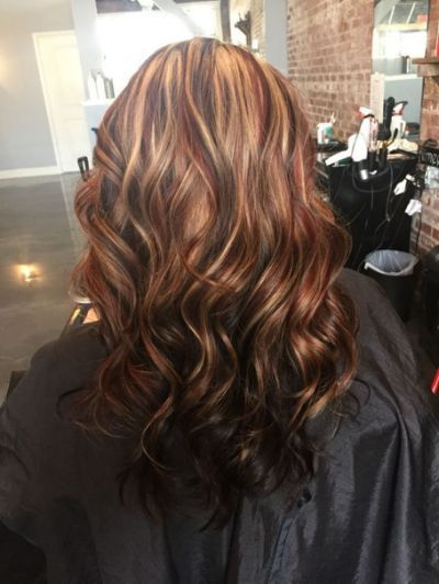 Highlights And Lowlights For Brown | Hair in 2019 | Red ...