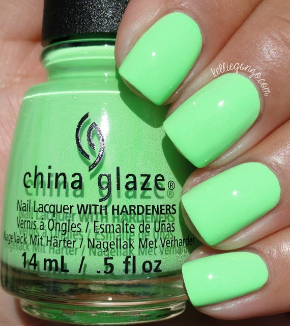 China Glaze — Lime After Lime // Lite Brites Collection;  Summer 2016