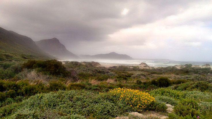Kommetjie beach in Cape Town South Africa