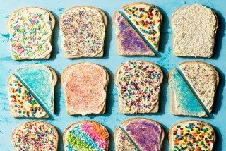 How to Make Fairy Bread, the Rainbow Snack from Australia