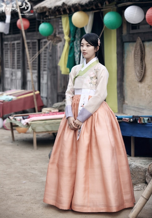 MissA Suzy in Hanbok @ Drama 'Gu Family Book'