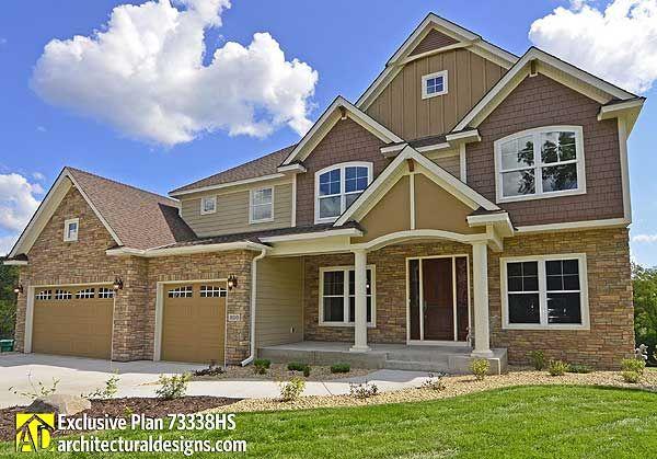 Plan 73338HS: Crowd-Pleasing Craftsman House Plan