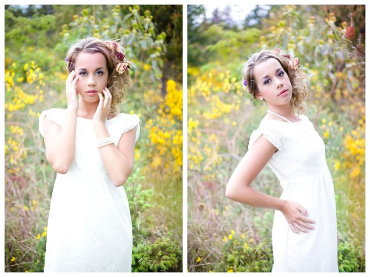 Simply Beautiful : Vancouver Island Portrait Photographer. Dress made and designed by Justine Elves