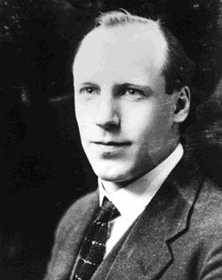 """Eric Liddell. Though he was an Olympic gold medal winner, while he was a missionary afterward to China the people there didn't even know of his fame. """"Chariots of Fire"""" was about him."""