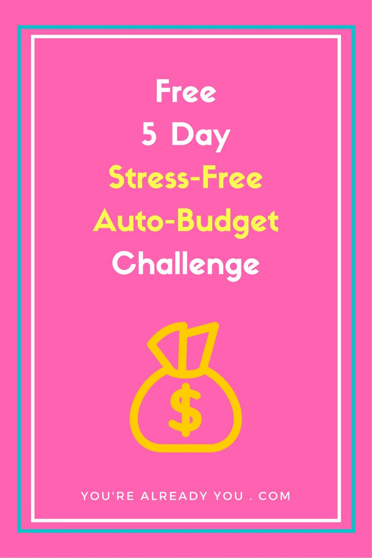 "Budgets are old school & stressful. Set up a stress-free auto-budget instead.   ""We managed our money with an auto-budget and it's allowed us to catch up and be a month ahead of ourselves. These techniques allowed us to make better decisions and not feel worried or anything.""  You'll get free tools, videos and examples to help you create your own stress-free auto-budget.   Click to sign up and be notified when the challenge begins."