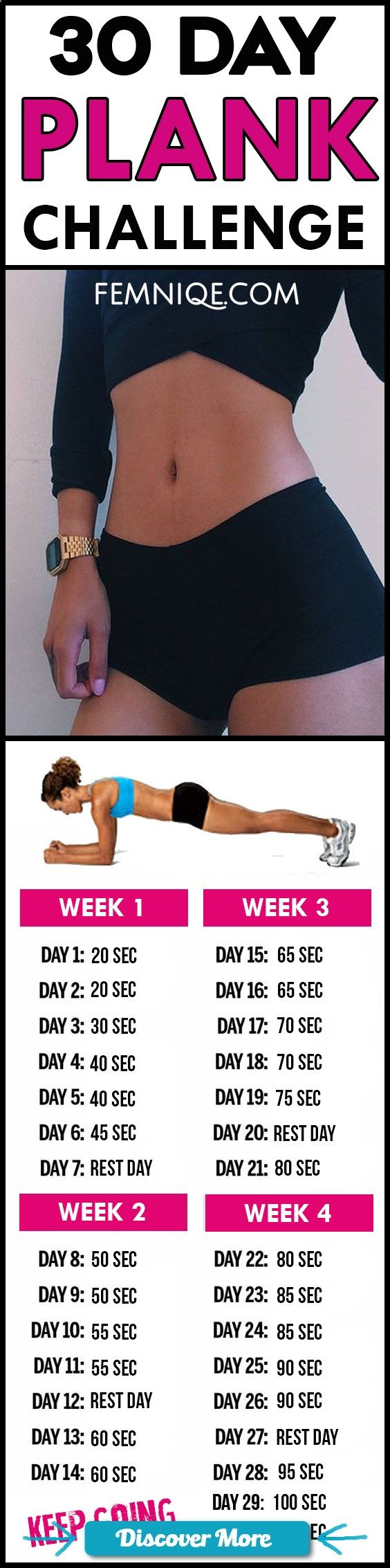 Powerful 30 day plank challenge for beginners before and after results - Try this 30 day challenge for beginners will help you get a flat belly and smaller waist. #fitnessbeforeandafterpictures, #weightlossbeforeandafterpictures, #beforeandafterweightloss https://www.musclesaurus.com/