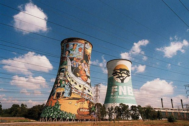 Orlando Towers. You cannot visit the area without sampling Jo'burg's famous Braai. Johannesburg.