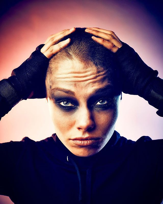 STRENGTH & BEAUTY of Fighter Rose Namajunas as Furiosa of Mad Max: Fury Road : if you love #MMA, you'll love the #UFC & #MixedMartialArts inspired fashion at CageCult: http://cagecult.com/mma