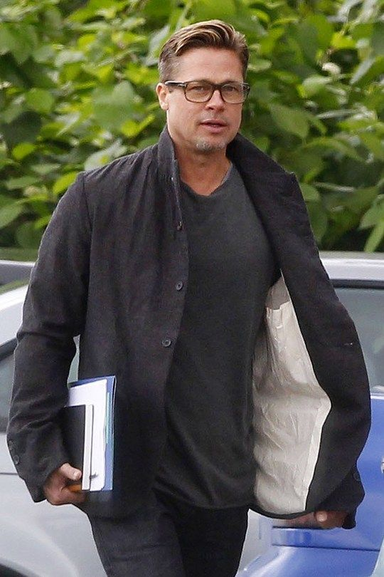 Brad Pitt Style Lookbook