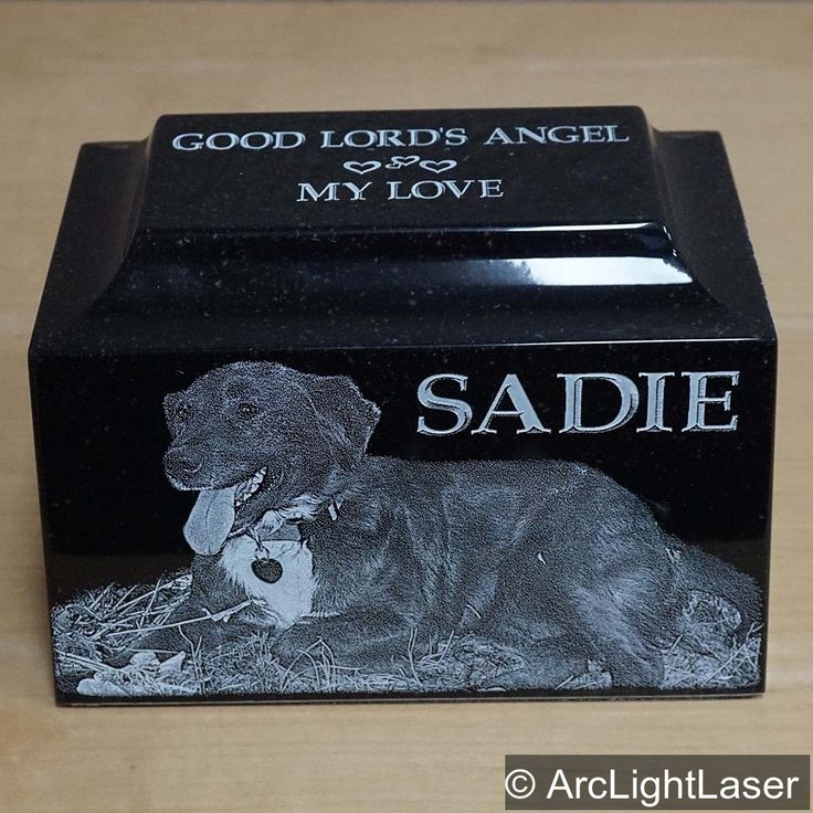 "Our pet cremation urns turn out beautiful! Five sides for pictures, names, dates and phrases. Each urn is completely personalized! Nothing ""cookie cutter"" in our designs."